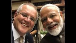 G20 Summit Australian Pm Scott Morrison Has Tweeted A Selfi With Pm Modi