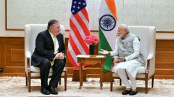 Us Secretary Of State Mike Pompeo Meets Prime Minister Narendra Modi