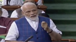 Pm Modi Addressed In Parliament Doing Treatment Of Illness