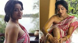 Monalisa Looking Gorgeous In Saree Pics Gone Viral