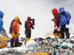 Found 11 Tons Of Garbage From Mount Everest Four Dead Bodies Found