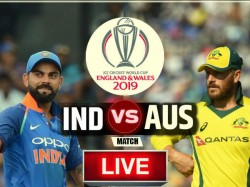 Icc World Cup 2019 Indvaus Match