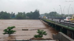 Vayu Is Coming Back To Gujarat Flooding In The Somnath River With Heavy Rains