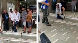 Video Viral In Surat Mobile Explodes In Man S Pocket