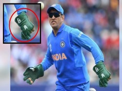 World Cup 2019 Icc Told Bcci To Remove Balidan Badge From Dhoni Gloves