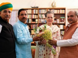 Modi S 3 Ministers Met Sonia Gandhi Right Before First Session Of Parliament