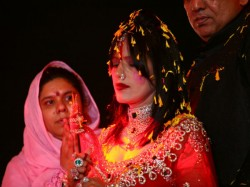 During The Interview Radhe Maa Got Angry On Her Devotees