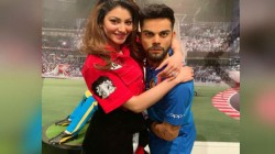 Urvashi Rautela Hugged Statue Of Captain Virat Kohli Users Trolled Her