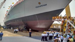Fire Breaks Out On Under Construction Ins Visakhapatnam At Mumbai Mazagon Dockyard