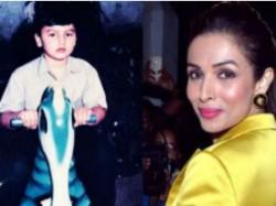 Malaika Arora S Reaction On Childhood Image Of Arjun Kapoor
