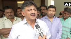 Before The Karnataka Floor Test Dk Shivkumar Emotional Appeal To Mla