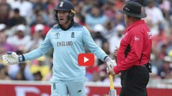 Jason Roy Got Angry When Umpire Gave Him Wrongly Out