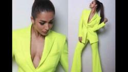Malaika Arora Wore A Coat Without A Shirt Hot Pics Viral