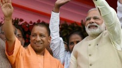 Bjp Mla Surendra Singh Compare Modi And Yogi With God