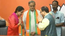 Ex Mp Sanjay Singh Joined Bjp With His Wife
