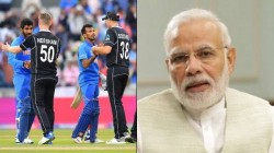 Narendra Modi On Icc World Cup 2019 Semi Final New Zealand Bear India