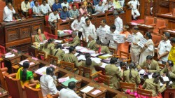 Karnataka Crisis Bsp Mla N Mahesh Is Not Present In The House During Trust Motion