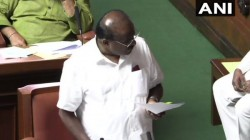 Karnataka Cm Hd Kumaraswamy In Vidhana Soudha Want To Prove Majority This Session