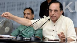Four Cases Filed Against Subramanian Swamy For His Remark On Rahul Gandhi