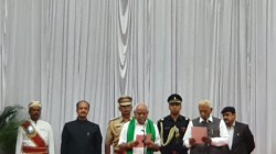 After 434 Days Bs Yeddyurappa Again Took Oath As The Karnataka Chief Minister