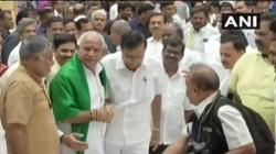 Karnataka Politics Bs Yediyurappa Ask Governor Permission To Take Oath