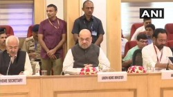 Home Minister Amit Shah Holds Inter State Council Meeting On Anti Maoist Operations