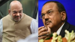 Amit Shah Meeting With Nsa Ajit Doval Over Kashmir