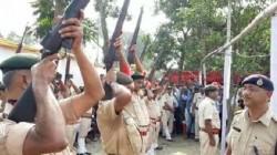 Rifle Fail To Fire In Funeral Of Former Bihar Cm Jagannath Mishra