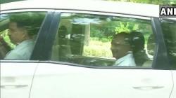 Ahmed Patel Ak Antony And Kc Venugopal Met Sonia Gandhi