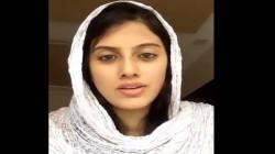 Article 370 Kashmiri Girl Urged To People Watch Video