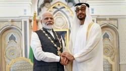 Watch Abu Dhabi Crown Prince Sheikh Mohamed Bin Zayed Al Nahyan Shares Beautiful Video Pm Modi Visit