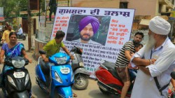 Navjot Singh Sidhu Troubles Increased Protests Started In His Own Area
