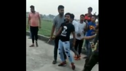 Video Viral Cutting A Cake With A Gunshot In Baghpat Uttar Pradesh