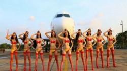 Bikini Airlines Where Air Hostess Wear Bikini