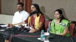 Acharya Dev Morari Babu Warns Kamalnath Government For Self Immolation
