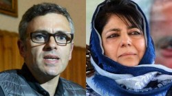 Police Arrested Mehbooba Mufti And Omar Abdullah