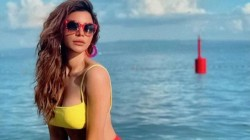 Shama Sikander Shared Hot Bikini Pics In Bathtab Goes Viral