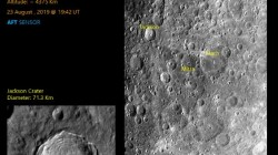 Chandrayaan 2 Lunar Surface Takes Striking Photos Of Craters On Moon