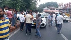 Transport Strike In Delhi Ncr Against Motor Vehicle Act