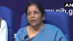 Corporate Tax Rates Slashed For Domestic Companies Nirmala Sitharaman