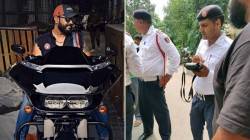 Traffic Rules Delhi Police Fined Harley Davidson Rider For Playing Music