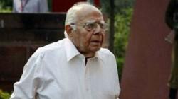 Ram Jethmalani Passed Away Early On Sunday Morning