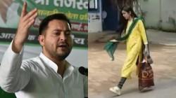 Tejashwi Yadav Reacts On Tej Pratap Yadav Wife Aishwarya Rai Issue