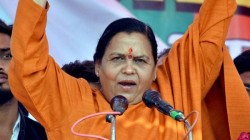Uma Bharti Says Noise Of Recession Is The Frustration Of Oponents