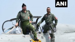 Watch Abhinand Varthaman Flies Mig 21 Again With Iaf Chief Bs Dhanoa