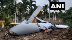 Rustam Uav Of Drdo Crashes In Chitradurga Test Range Karnataka