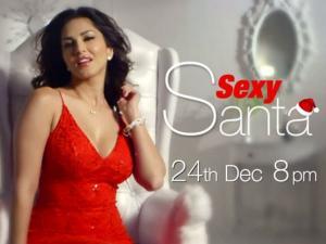 સન્ની બની Sexy Santa : જુઓ તસવીરો અને Video