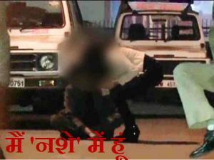 Video: નશામાં ધુત છોકરીનો દિલ્હીના કનોટ પ્લેસમાં હંગામો