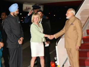અમેરિકા પહોંચ્યા PM મોદી, ટ્રંપે કંઇક આ રીતે કર્યું સ્વાગત..
