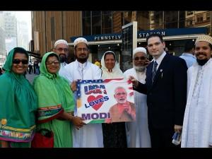 Narendra Modi Brings Together Hindu Muslim Sikh Christian America